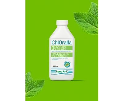 Land Art Chloralfa 全天然薄荷漱口水 350ml