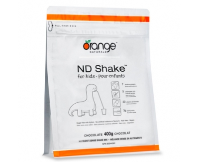 Orange Naturals ND Shake儿童营养混合饮料 400g